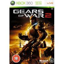 Gears Of War 2 Xbox 360 Jogo Frete Grátis Original