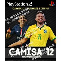 Bomba Patch Camisa 12 - Brasileirão 2015 - Novo - Para Ps2