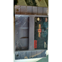 Fita Super Nintendo Mortal 2