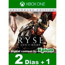 Aluguel Ryse: Son Of Rome Xbox One Br Digital - 2 Dias