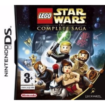 Jogo Nintendo Ds Lego Star Wars The Complete Saga