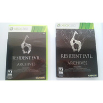Resident Evil 6 Archives X-box 360 Semi Novo