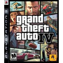 Gta Grand Theft Auto Iv 4 Ps3