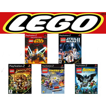 Patch Lego Batman, Indiana, Racers 2 E Star Wars Ps2 Pay 2