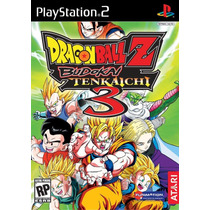 Dragon Ball Z Budokai Tenkaichi Patch 3 Play2 / Ps2