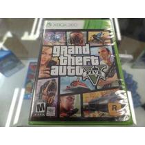 Gta V Xbox 360 Novo Lacrado
