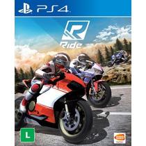 Ride - Jogo Ps4 - Mídia Física - Corrida Moto