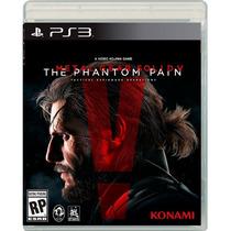 Metal Gear Solid V: The Phantom Pain - Ps3 Lacrado Nacional