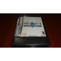 Final Fantasy I & Ii Dawn Of Souls Com Caixa E Manual - Gba