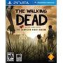 Jogo The Walking Dead - Ps Vita   Lacrado   Original   Novo