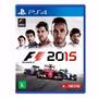 Fórmula 1 2015 F1 Ps4 Português Mídia Físca - Frete 10,00