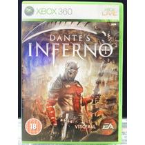 Jogo Dantes Inferno Xbox 360, Original, Novo, Lacrado