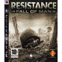 Resistance 1 Português Playstation 3 Mídia Física Ps3