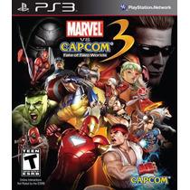 Jogo Ps3 Marvel Vs. Capcom 3 Original Lacrado