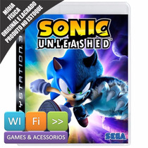 Sonic Unleashed Ps3 Mídia Física Original Lacrado