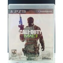Jogo Call Of Duty Mw3 Playstation 3, Original, Novo, Lacrado