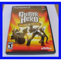 Guitar Hero Ps2 World Tour Playstation 2 Original Rock Band