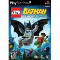 Lego Batman The Video Game Ps2 Patch Com Capa E Impressão