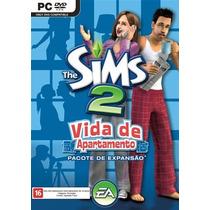 The Sims 2: Vida De Apartamento Pc Mídia Física Lacrado
