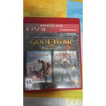 God Of War Collection 1 E 2. Jogo Ps3, 2 Em 1. Na Caixa.