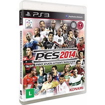 Game Ps3 Pro Evoluction 2014 Original Lacrado Em Portugues