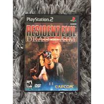 Novo Jogo Resident Evil Dead Aim Original Ps2 Cx Mnl 100%