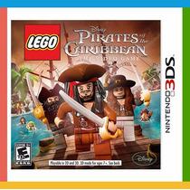 Jogo Lego Disney Pirates Of The Caribbean Para Nintendo 3ds