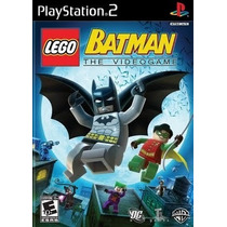 Lego Batman The Video Game Ps2 Patch Disco Impresso
