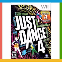 Just Dance 4 (versão Em Português) Wii / Wiiu