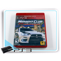Midnight Club Los Angeles Playstation 3 Complete Edition