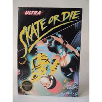 Cartucho Skate Or Die - P/ Nes - Super Nintendo C/ Capa