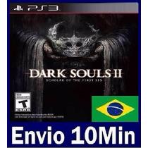 Dark Souls 2 Ii: Scholar Of The First Sin Ps3 Código Psn