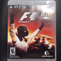 F1 2011 Ps3 Mídia Física Usado