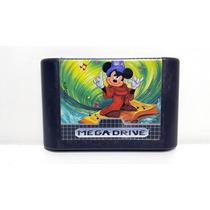 Jogo Mega Drive Fantasia Mickey Mouse Original Sega Genesis
