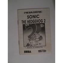 Manual Sonic The Hedgehog 2 Mega Drive Tec Toy