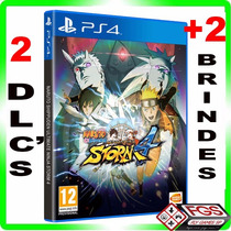 Naruto Shippuden: Ultimate Ninja Storm 4 - Ps4 -midia Fisica