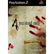 Resident Evil 4 Legendado Ps2 Patch Com Capa E Impressão
