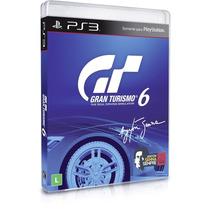 Jogo Ps3 Gran Turismo 6 - Webfones
