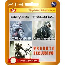 Crysis Trilogy 1+2+3 Em Um Só Pacote! Só Aqui! (código Ps3)