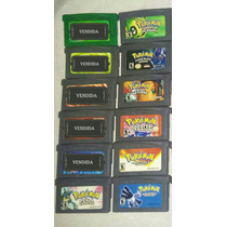 Colecão Pokemon Game Boy Advanced