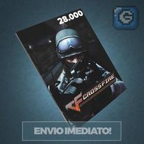 Crossfire Jogo Pc - Cartão De 28.000 Zp Cash - Imbatível!