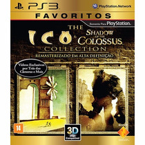 Jogo Ps3 Ico & Shadow Of The Colossus (favoritos)