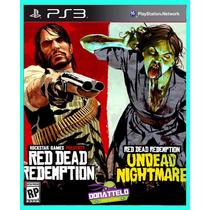 Red Dead Redemption + Undead Nightmare Ps3 Psn Envio Já!!