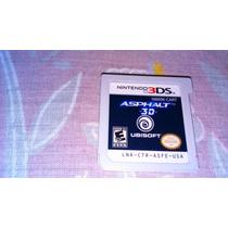 Asphalt 3d Original P/ Nintendo 3ds