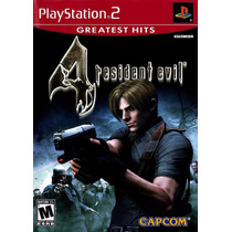 Jogo Resident Evil 4 Ps2 - Americano - Completo Lacrado!