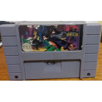 The Adventure Of Batman E Robin - Super Nintendo