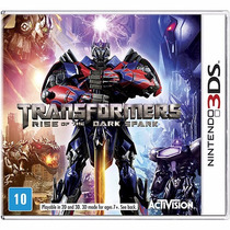 Transformers Rise Of The Dark Spark Para 3ds Rcr Games