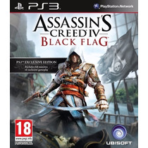 Assassins Creed 4 Black Flag Ps3 Cod Psn Envio Imediato