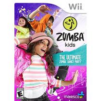 Zumba Kids Nintendo Wii Novo Lacrado Original