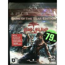 Dead Island Para Ps3 Novo Lacrado Pronta Entrega!